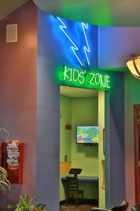Kids Gaming Area In Office